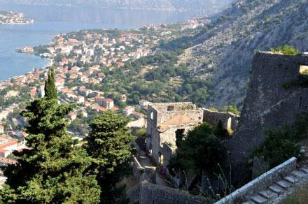 Город Котор в Черногории