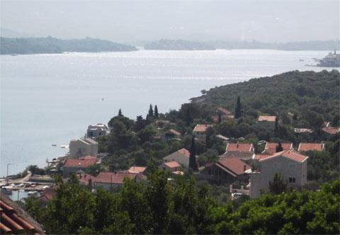 Полуостров Луштица в Черногории