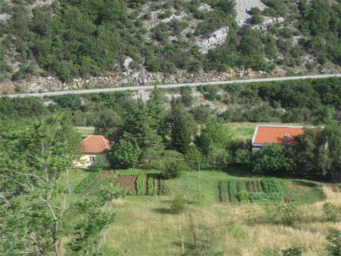 Город Подгорица в Черногории