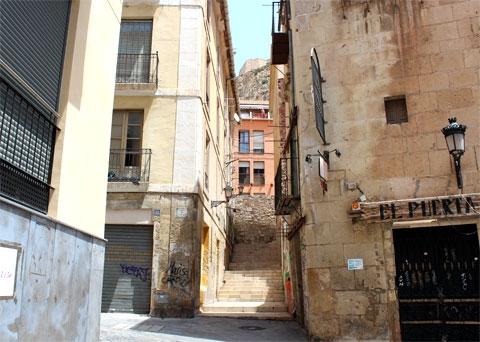 Аликанте, Испания: старый город