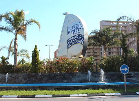 Марина д Ор - город отпускников