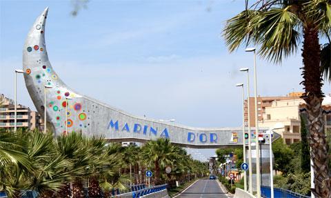 Урбанизация Марина д Ор, Испания