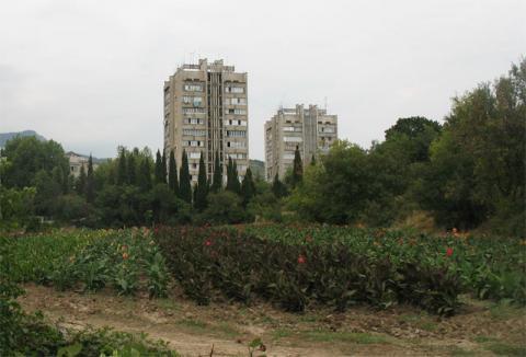 Партенит - пейзаж