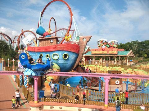 Порт-Авентура - парк развлечений в Салоу