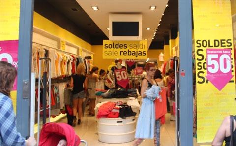 Распродажа в Испании