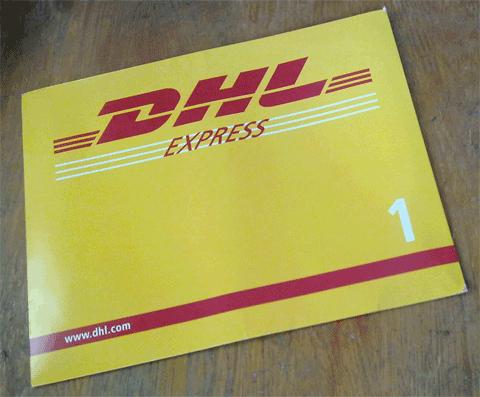Отправка документов на испанскую визу курьерской службой DHL