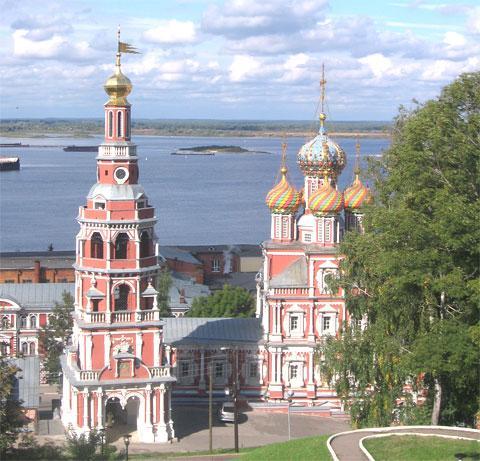 Нижний Новгород (Горький). Рождественская церковь.