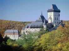 Самый известный чешский замок Карлштейн