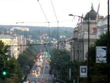 Вечерний Белград - столица Сербии