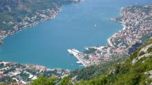 Которский залив в Черногории