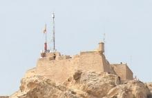 Крепость Санта Барбара в Аликанте
