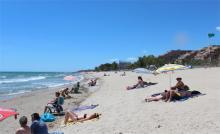 Пляж в Марина д Ор