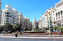 Plaza del Ayuntamiento, Валенсия