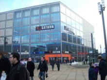 Шоппинг в Берлине, Германия: магазин Сатурн