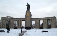 Берлин, памятник воину-освободителю